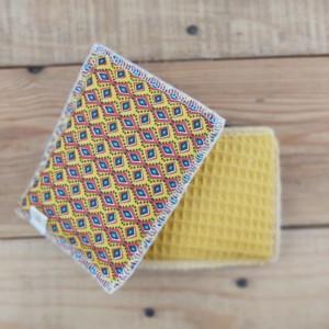 eponge lavable fabrication artisanale