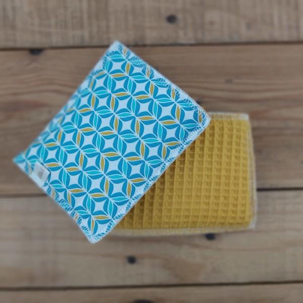 éponge lavable zéro déchet fabrication artisanale