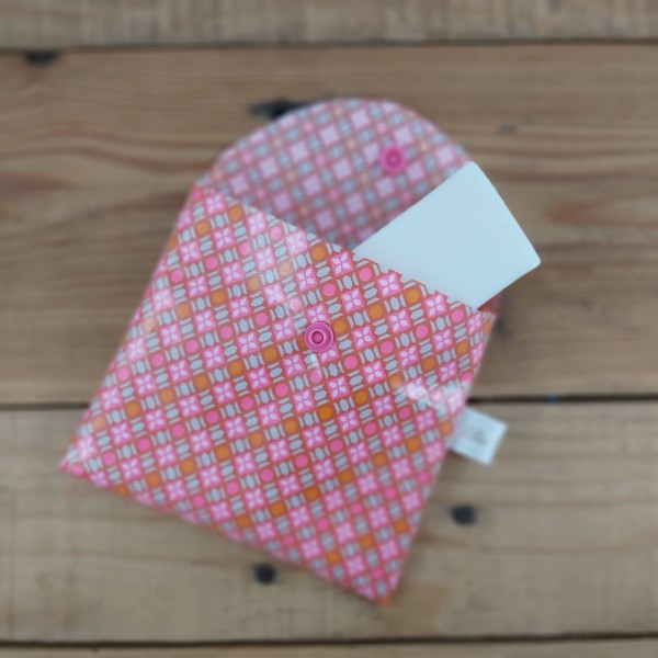 pochette à savon coton enduit imperméable fabrication artisanale