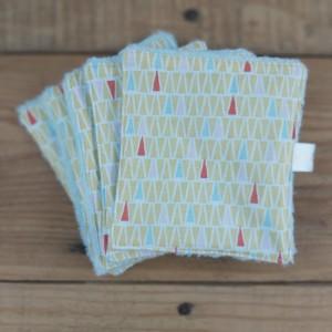 lingettes lavables bébé zéro déchet création artisanale