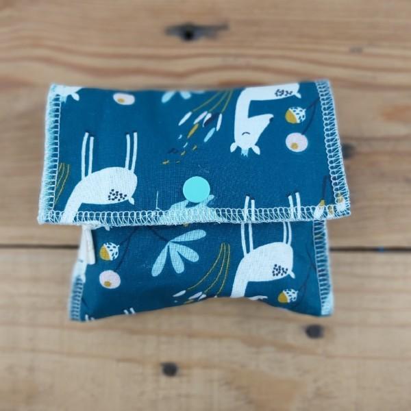 pochette à savon en tissus création artisanale fait main en france