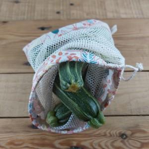 sac à vrac filet à légumes zéro déchet, création artisanale