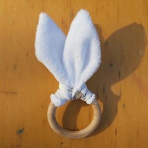 anneau de dentition bois non traité fabrication artisanale