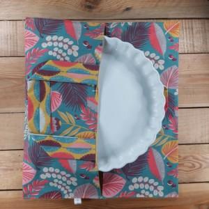 Sac à tarte zéro déchet création artisanale lilie cousette réalisée dans la Baie du Mont St Michel