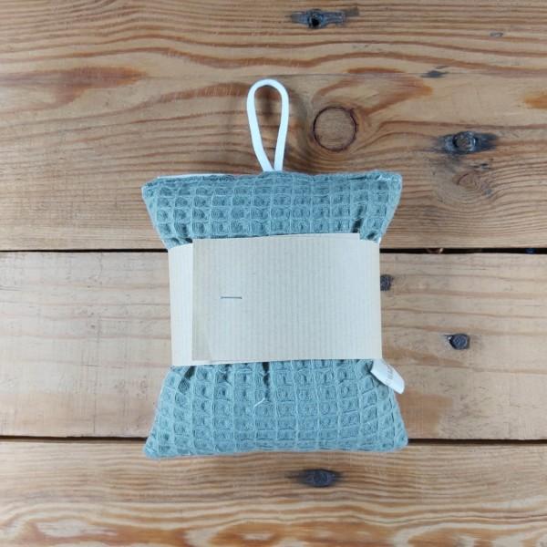 Eponge lavable zéro déchet création artisanale dans la baie du Mont St Michel