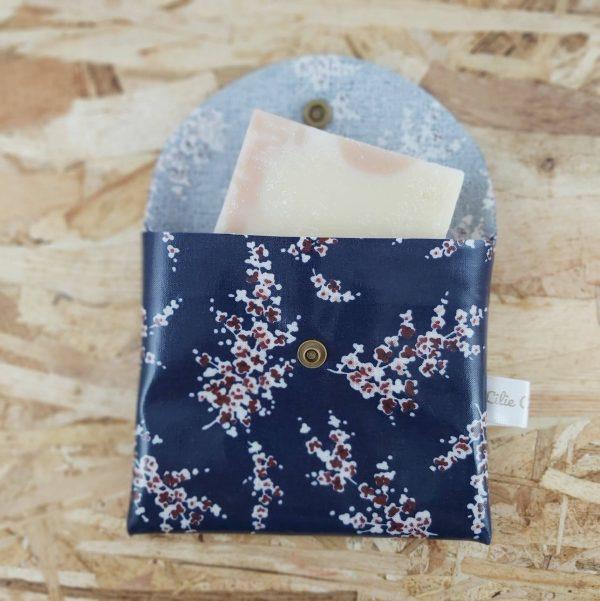 Pochette à savon zéro déchet création artisanale