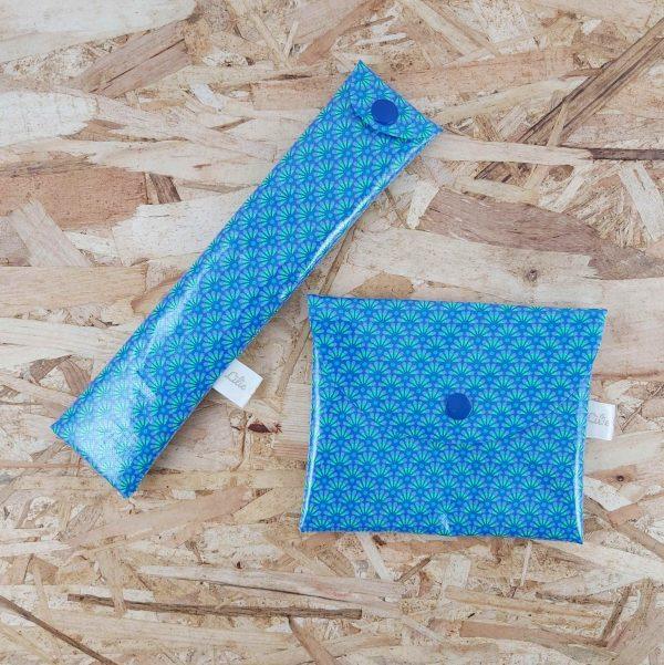 Etui à brosse à dents & pochette à savon zéro déchet création artisanale